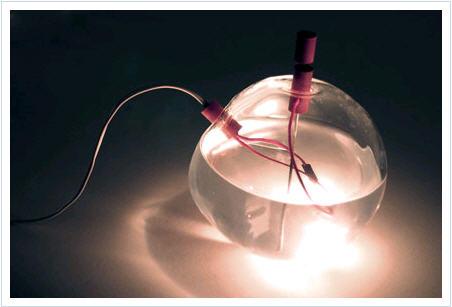 设计作品 水灯