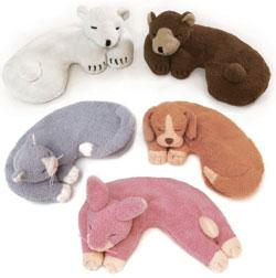 可冷藏或微波炉加热的小动物敷眼罩