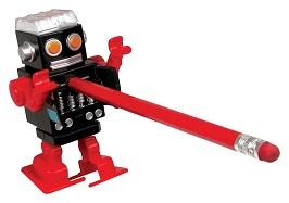 行走机器人卷笔刀