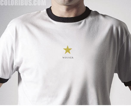 奖品t恤 winner