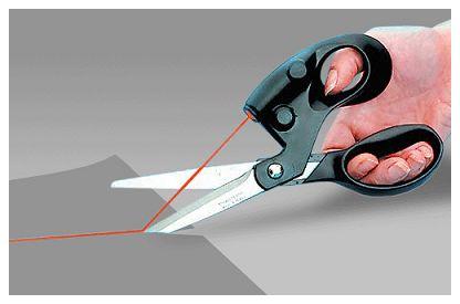 激光制导剪刀