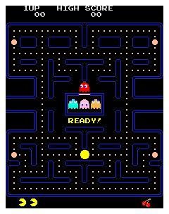 Pac-Man吃豆子游戏