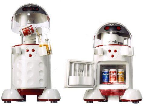 啤酒机器人
