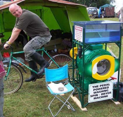 自行洗衣机?车?