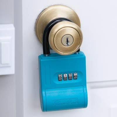 可存放钥匙的密码挂锁