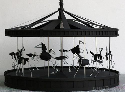 雨伞旋转木马