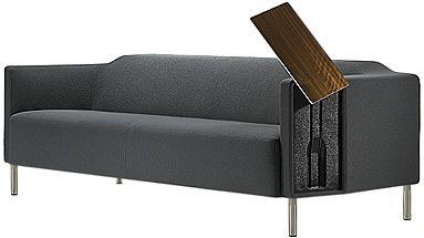 带工作台的沙发