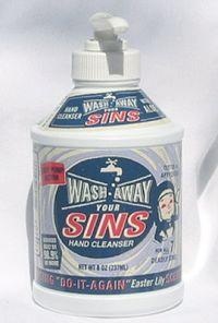 能洗去罪行的洗手液