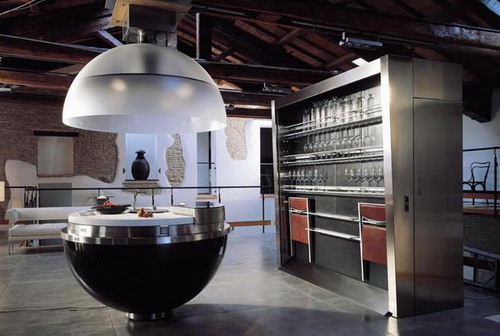 厨房是个球
