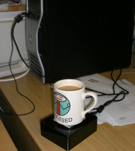 intel inside的USB加热器