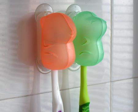 啪啪牙刷架