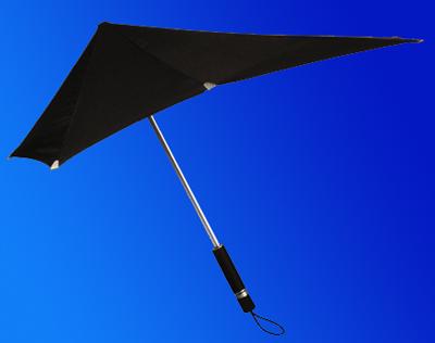 不会被吹翻的雨伞