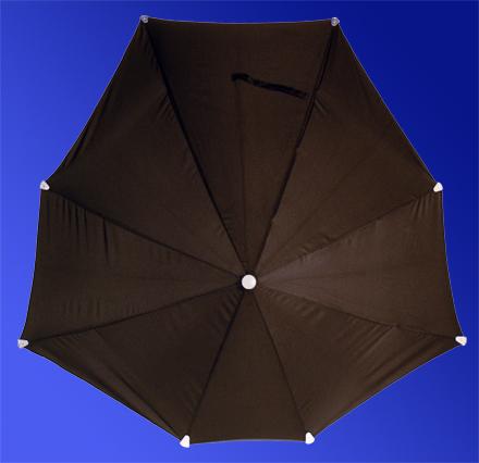 不会被掀翻的雨伞