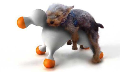 面向狗狗的自我安慰娃娃……