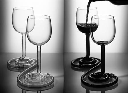 我的另一半 酒杯设计