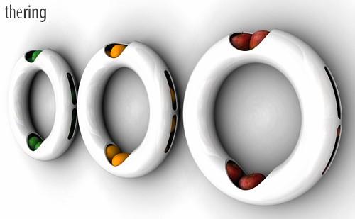 陶瓷水果环