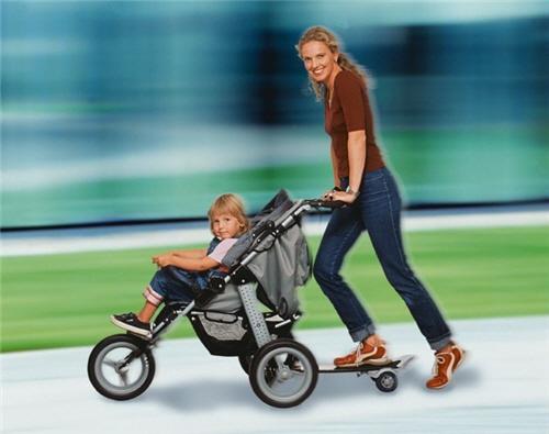娘亲牌滑板婴儿车