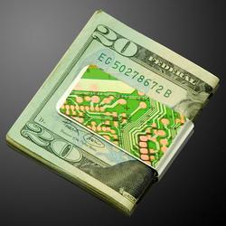 电路板钱夹