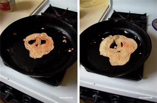 骷髅头煎饼