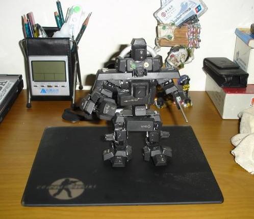 键盘按键做的机器人
