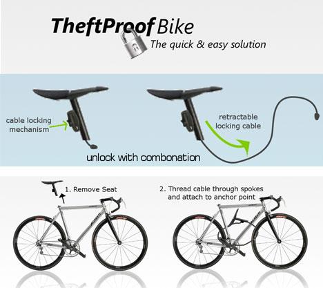 自行车防盗锁