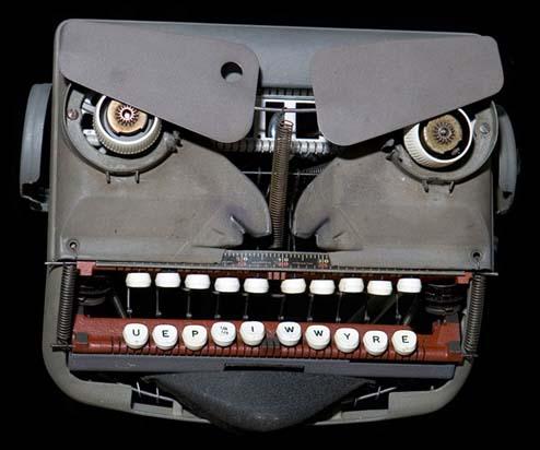 打字机的愤怒