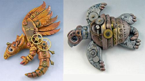 史上最可爱的多铆蒸钢/蒸汽朋克/幻想机器作品