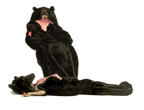大熊和美少女