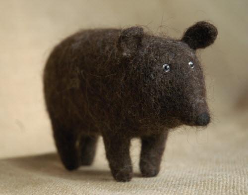 这不是黑猪,是黑熊