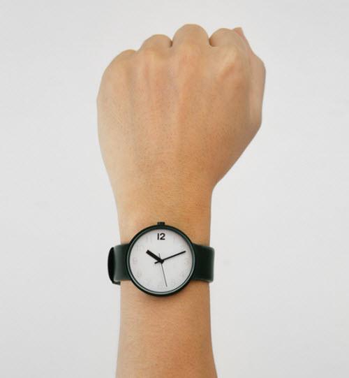 现在有多少人戴表?只有三个戴表!