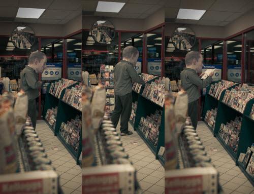 大头在书店――不能去银行,因为会被认为意图不良