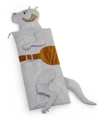 但是那个睡袋的前肢后肢好像是伸不进去的