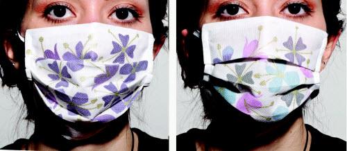 另一种过敏口罩,她的过敏源是一种有四只翅膀的蝴蝶,嗯信不信由你
