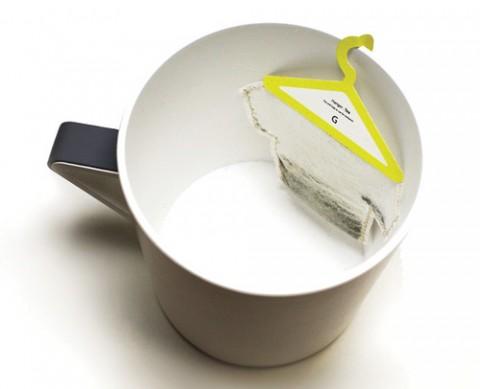 虽然好看未必好用――水冲下去浮起来,就会比传统的茶包更碍事吧