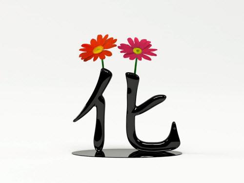 盛开的时候是花