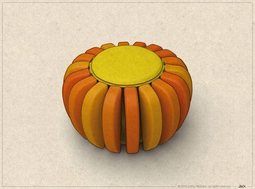 我可以把这种形状命名为菊花橙吗