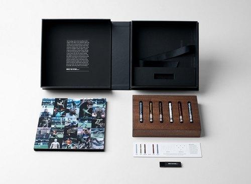 礼盒包装、蜡笔颜色由广告公司指定