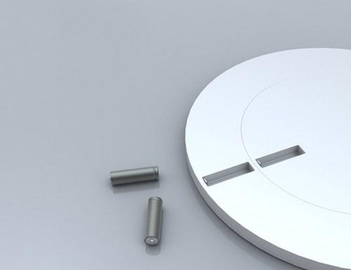 钟倒在其次,这种全身乌溜溜的电池,我想买!