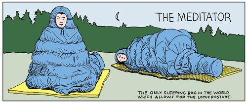 毛毛虫半夜起来发愣