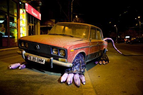 汽车那么大,的老鼠……