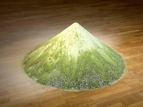 考虑到它的创作者是柏林人,因此它的原型很可能不是富士山