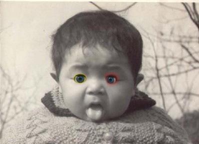 因为它们见到了自己变成人形的样子