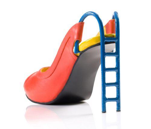 是高跟鞋还是滑梯还得看使用者的大小吧