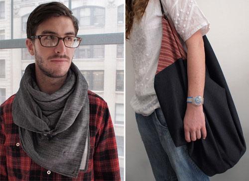 自己拿 LV 编织袋围在脖子上不会像他们那样好看,所以这个东西还是有讲究的