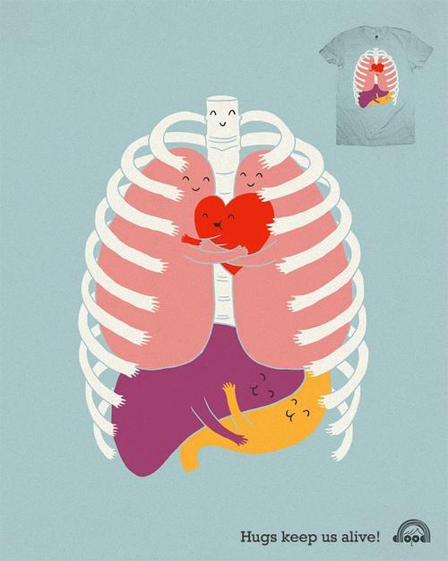 我的内脏才没有这么可爱