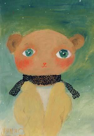 我叫肉肉熊,是JOHN HO的作品,生于1998年。