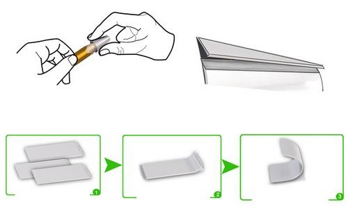 唯一的工序就是用钳子把它钳弯,还能再简单一点吗
