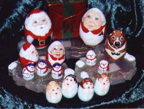 萌点在驯鹿!为何圣诞老婆婆有点惊悚圣诞老公公就这么慈祥――最下面四个天使蛋也太二了!