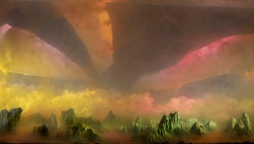 诡异的云!