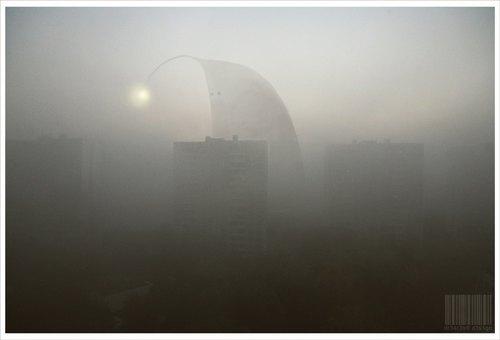 我想像中斯蒂芬金的《迷雾》就是这个样子